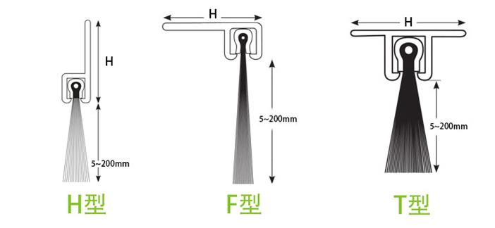 Door Bottom Brush Model
