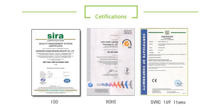 Door Seal Strip Brushes Certifications