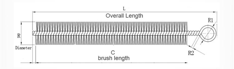 Cat Scratch Brush Drawings