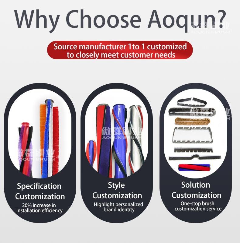 Aoqun Vacuum Cleaner Strip Brush