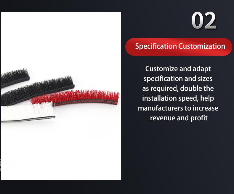 Customize Strip Floor Brush For Hand-Held Vacuum Cleaner