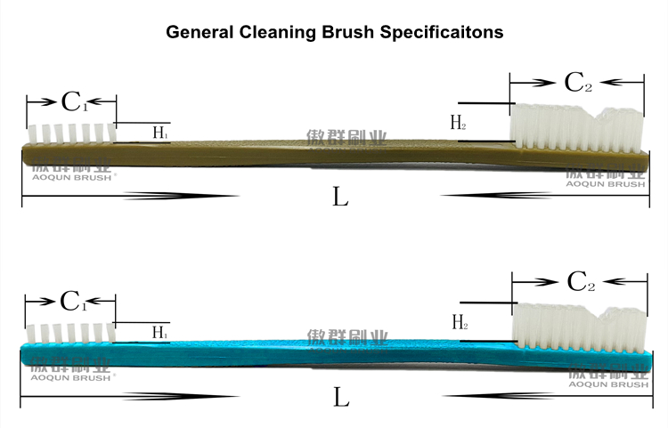Instrument Cleaning Toothbrush Style Brushes Specifications
