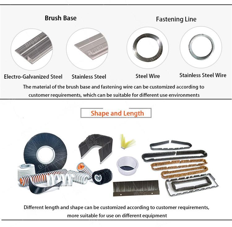 Strip Brush Material
