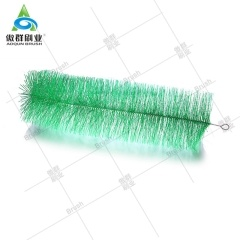 Filter Media Brush, filter brush pond, koi pond filter brushes