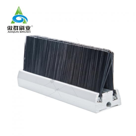 Nylon Black Strip Escalator Safety Brush
