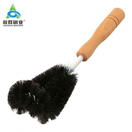Black Nylon Beaker Cleaner Brush