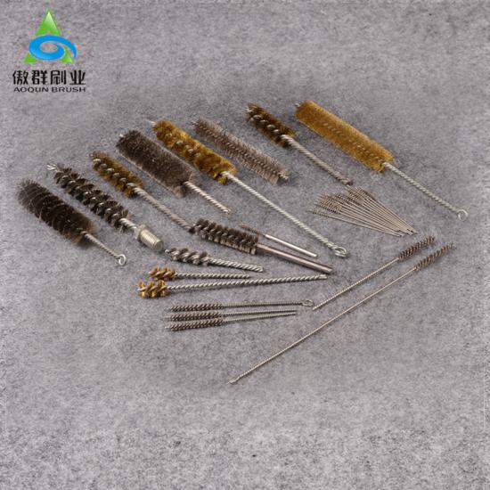 Power Copper Brass Stainless Twisted Wire Tube Brush Cleaner
