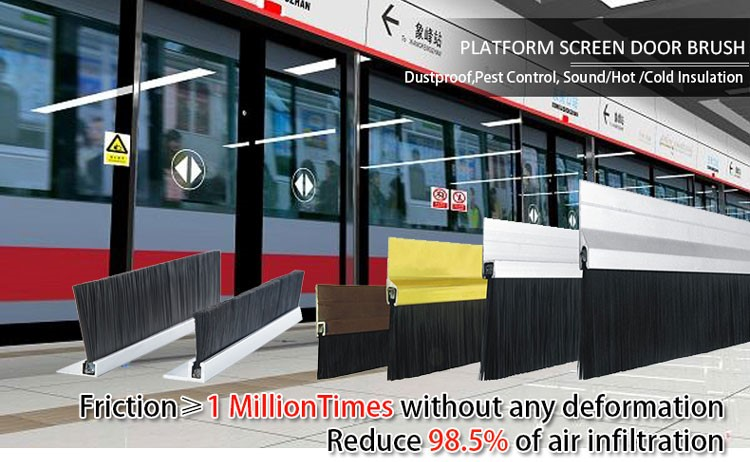 Good News! AOQUN Platform Screen Sliding Door Brush Strips are Applied to Australia Railway Projects
