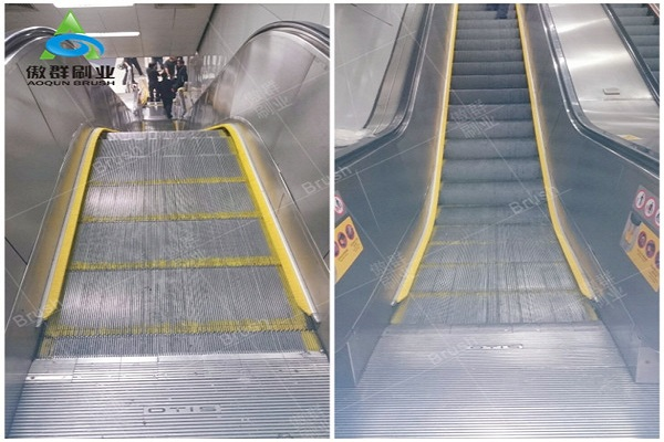 AOQUN Escalator Safety Brush Installation Is Easy to Assemble