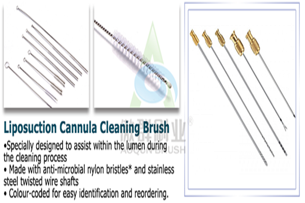 Amazing Tube Cleaning Brushes Medical Without Bristles Drop - Aoqun